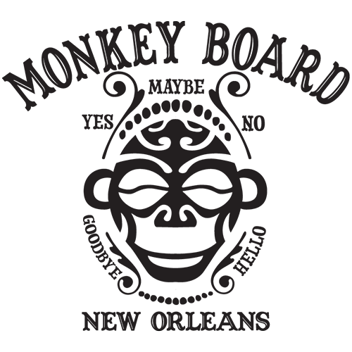Monkey Board New Orleans logo